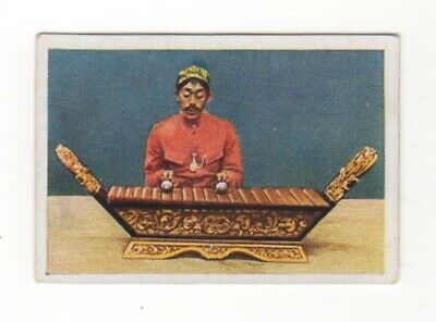 German World Wonders Series. Musical instrument, Gambang, from Java