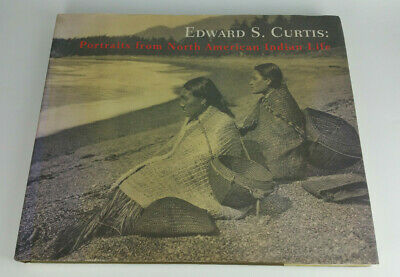 Edward S Curtis Portraits from North American Indian Life Photogravure Book 1972