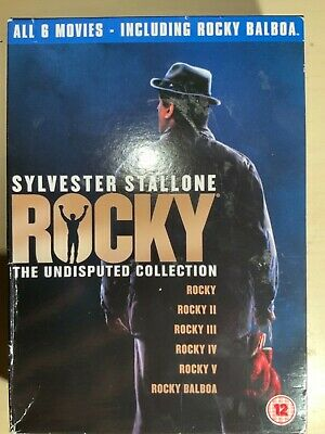 Rocky: The Undisputed Collection (6 Movies) - Sylvester Stallone