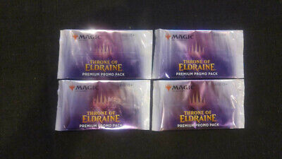 MAGIC the GATHERING THRONE of ELDRAINE Premuim PROMO Booster PACK x1 qty. avail.