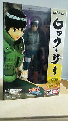 "Tamashii Nations S.H.Figuarts Rock Lee ""Naruto Shippuden"" Figure NEW BANDAI!!!"