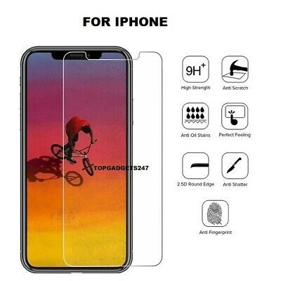 Screen Protector for New iPhone 11,11 Pro 11 Pro Max Gorilla Tempered Glass