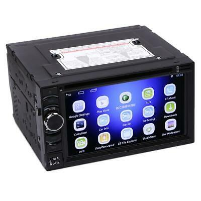 Quad Core HD 2Din 6.5 inch car dvd gps player Android 4.4.4  WF