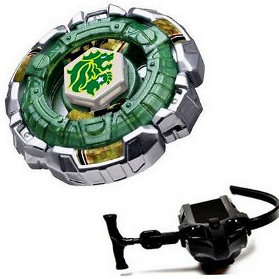 Fang Leone Beyblade 4D Top Metal Fusion Fight Master + Launcher Kid's Game Toys