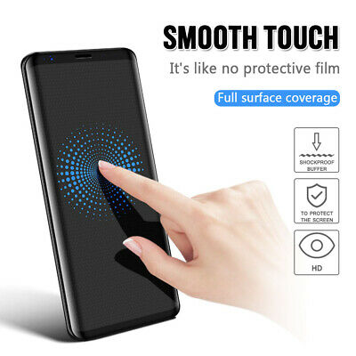 Tempered Glass Protection Screen Cover For Samsung Galaxy S10 S9 S8