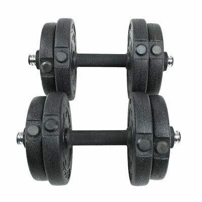 2x5kg Dumbbell Set Fitness Free Exercise Home Gym Bicep Weight Training