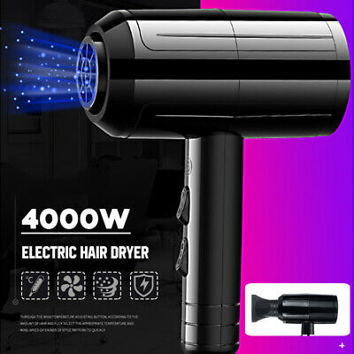 4000W Professional Electric Hair Dryer Salon Anion Blower Hairdressing Diffuser