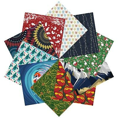 Origami Paper Christmas Gift Set | 100 Sheets, 15cm Square | Collection ONE