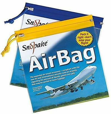 10x TRAVEL ZIP BAGS CLEAR AIRPORT TRANSPARENT LIQUID TOILETRIES CABIN Security