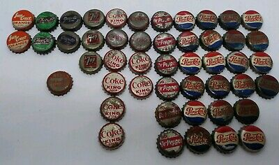 Lot of 10 Vintage Coca Cola Bottle Pop Caps Brand New Unused Z6613