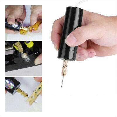 Portable Mini Electric Drill Handheld Micro USB Drill DIY Craft Hand Tool  CA