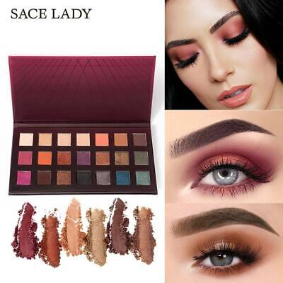 SACE LADY 21 Colors Glitter Eyeshadow Palette Matte Eye Shadow Make Up  CA