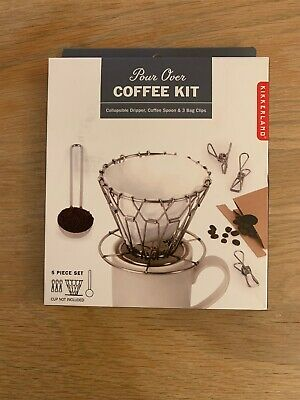 Kikkerland 'Pour Over' Coffee Kit