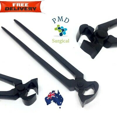 Horse Hoof Nipper Trimmer Cutter Farrier Tool Black Coated 12""