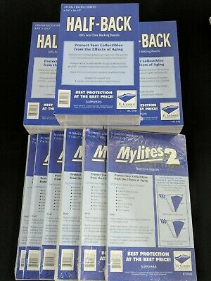 300 E. Gerber Mylites2 & Half Backs Set - Current Modern Age Comic 700M2 | 675HB