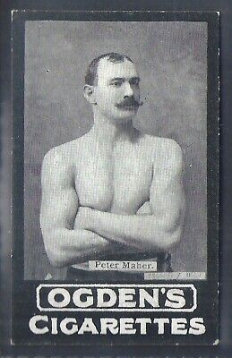 Ogdens Tabs-Series A-#A074- Boxing - Peter Maher