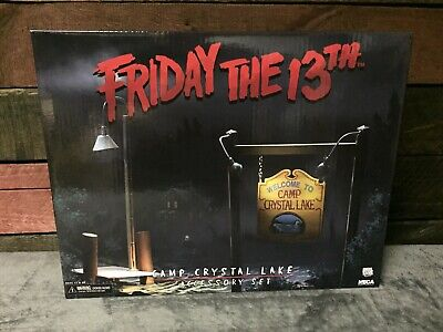 "NECA Friday the 13th Camp Crystal Lake Accessory Set for 7"" Jason Action Figure"