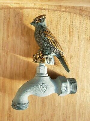 Arrowhead Decorative Brass Cardinal Water Spigot