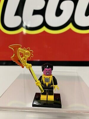Lego DC Super Heroes Justice League Sinestro Minfigure with weapon 76025