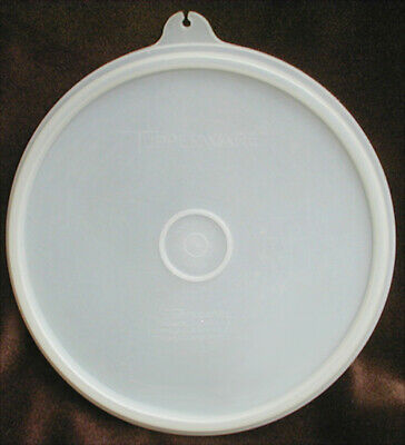 Tupperware replacement lid seal 227 tab C Clear round 6 1/2 inches