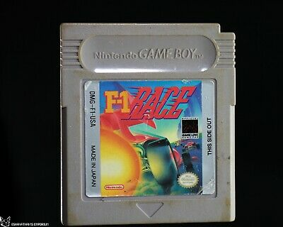F-1 Race [NEW BATTERY & WORN LABEL Nintendo Game Boy FIA Formula One F1 Racing