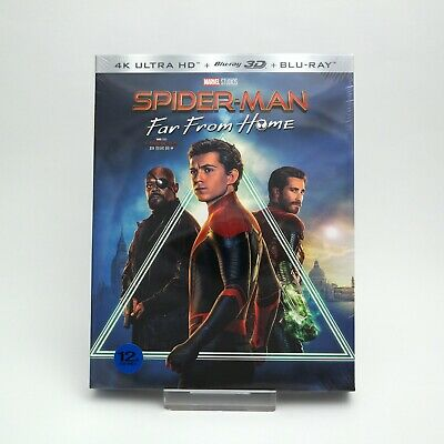 Presale) Spider-Man: Far From Home - 4K + 3D + 2D Blu-ray Full Slip Case Edition