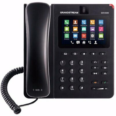 """Grandstream GXV3240 Video IP Phone Android Based 7"""" Colour Used"""