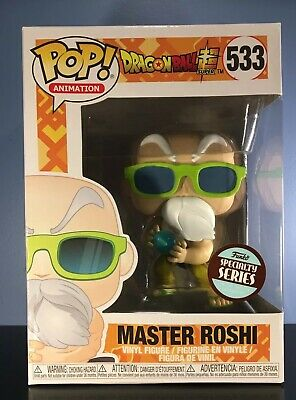 Funko POP! Dragon Ball Super - Master Roshi - Specialty Series Exclusive - MINT