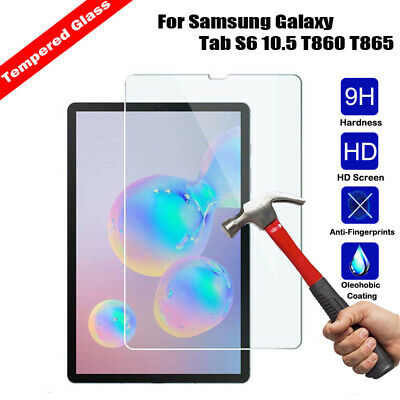 Genuine Tempered Glass Screen Protector for Samsung Galaxy Tab S6 10.5 T860 T865