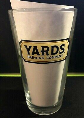 YARDS Brewing Company - PHILADELPHIA PA - 16oz Craft Beer Logo Shaker Pint Glass