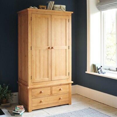 Oakley Pine Gents Wardrobe Quality traditional construction