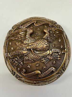 Edgar Berebi America Paperweight Best piece I Ever Made Detail Is Museum Quality