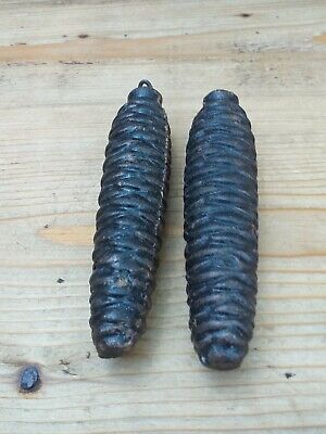Vintage Two Black Forest / Cuckoo Clock Weights