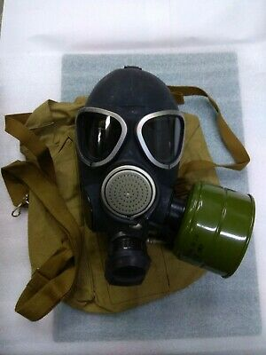 GAS MASK PMK-2 drinking system (Mask,Filter,Bag), New,Russian Army