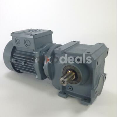 Sew S37 DT63N4 Gearmotor motor reducer 0.18kW i:99 New NMP