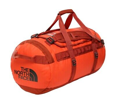 Duffle Backpack THE NORTH FACE Base Camp Duffel M Acrylic Orange FJ5