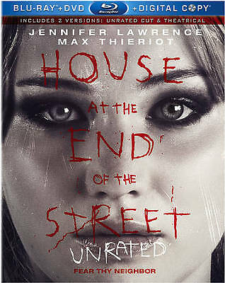 House at the End of the Street   *Like New*   (Blu-ray, 2013, 1-Disc)