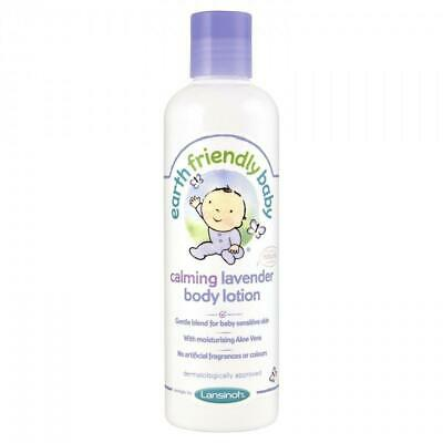 Earth Friendly Baby Calming Lavender Body Lotion, 250ml