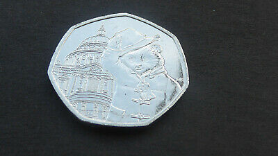 Brand New  'Paddington Bear At St.pauls' 50 Pence Piece