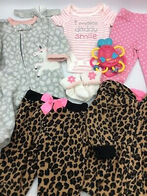 """Adorable Baby Doll Outfit Lot For Reborn Infant Newborn 18-20"""" Dolls"""