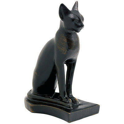Bastet Egyptian Cat statue sculpture Museum Replica Reproduction
