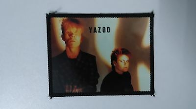Yazoo group artist Sew On patch music band pop