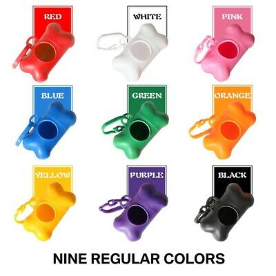 Waste Dispenser 30 Bags Refill Carrier Poo Bag Dog Cat Poop Clip Doggy Holder
