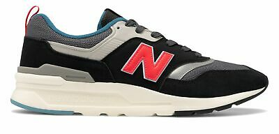 New Balance Men's 997 Shoes Grey with Red