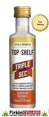Still Spirits Top Shelf Triple Sec Liqueur Home Brew Spirit Flavour Essence