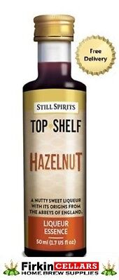 Still Spirits Top Shelf Hazelnut Liqueur Home Brew Spirit Flavour Essence Bottle