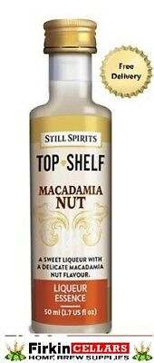 Still Spirits Top Shelf Macadamia Nut Liqueur Home Brew Spirit Flavour Essence