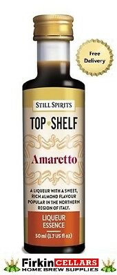 Still Spirits Top Shelf Amaretto Liqueur Home Brew Spirit Flavour Essence Bottle