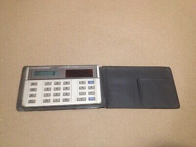 SOLAR CASIO SL-760GDB / SHARP EL-821 / Texas Instruments TI-1780 CALCULATORS