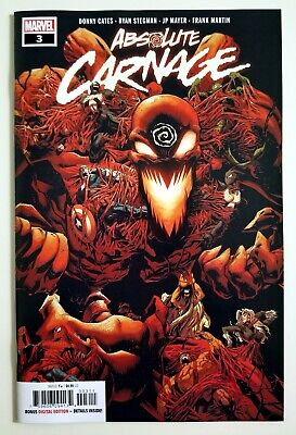 ABSOLUTE CARNAGE #3 • Stegman Cover • Marvel Comics • 2019 • NM Unread